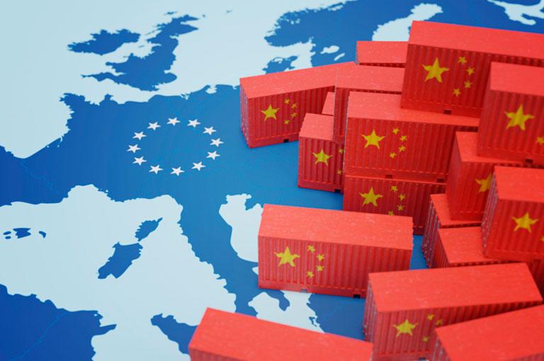 Accord entre la Chine et l'Europe