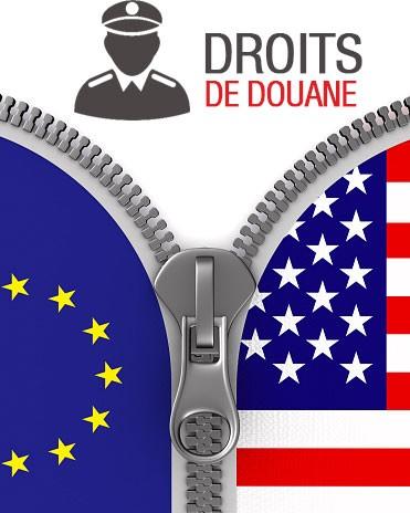 Droits de douane et accord commercial Etats Unis