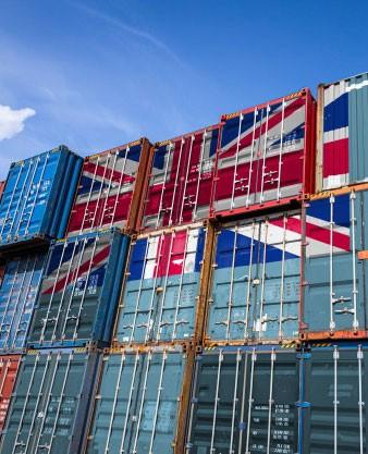 Passage en frontière des marchandises avec le brexit