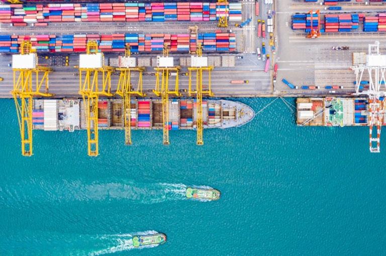 Les plus grands ports au monde