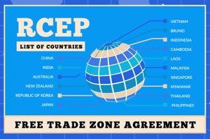 Accord commercial Asie RCEP